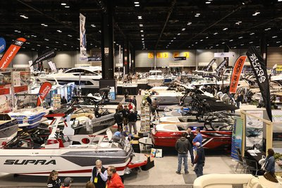 Boats at the Chicago Boat Show